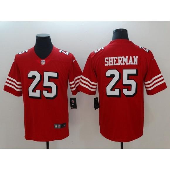 quality design a3656 ef996 San Francisco 49ers Richard Sherman Jersey